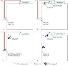 photocell lighting control wiring diagram contactor metal area