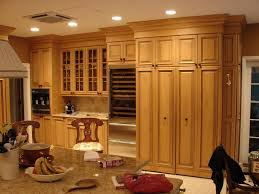 tall solid pine kitchen cabinet pantry bar cabinet