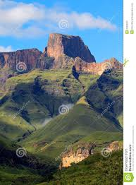 Drakensberg Mountains Map Drakensberg Mountains South Africa Stock Image Image 30269231