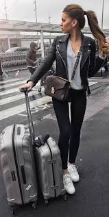 Travel outfits airport style how to look fashionable during