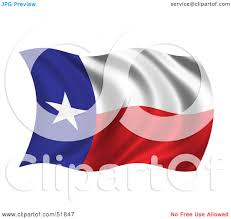 Texas State Flag Image Royalty Free Rf Clipart Illustration Of A Wavy Texas State Flag