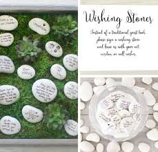 wishing stones wedding unique summer wedding ideas diy projects