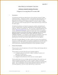 letter admission appeal letter template