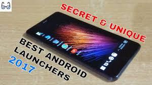 Unique Gadget by The Best Secret And Unique Android Launchers Of 2017 Youtube