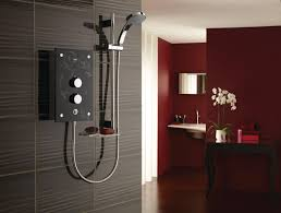mira galena 9 8kw thermostatic electric shower slate