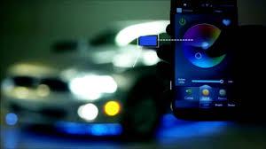 app controlled car lights led lights usa made xk silver app wifi control under car interior