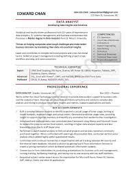 Business Systems Analyst Resume Sample by Data Analyst Sample Resume