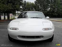 1990 crystal white mazda mx 5 miata roadster 53463980 gtcarlot