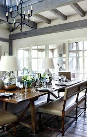 console table used as dining table beautiful country chic family room with country style sofa table
