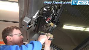 how to install replace rear hatch lock actuator chevy blazer gmc