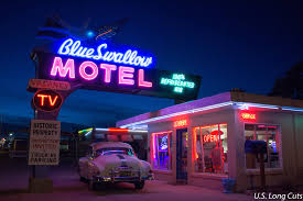 Classic Motel Blue Swallow Motel Route 66 Classic Midwest Wanderer