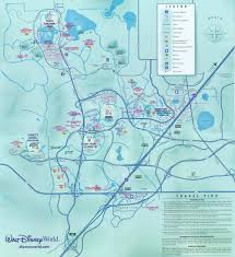 Disney World Florida Map by Walt Disney World Disney World Vacation Information Guide