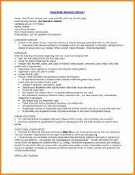 proper resume template proper resume format fresh 10 proper resume resume sle proper