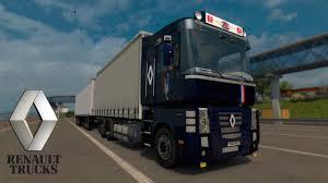 renault truck magnum ets2 v1 28 i mod renault magnum tandem deutsch hd youtube