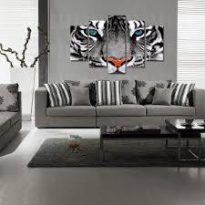 wildlife living room decor modern house visual art decor hd tiger photo canvas prints wild animal canvas printing home decor wildlife giclee