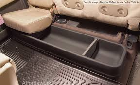 Husky Liner Floor Mats For Toyota Tundra by 2017 F 250 F 350 Super Duty Super Cab Husky Gearbox Under Seat