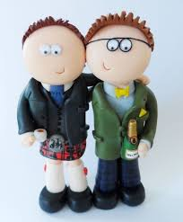 24 best lgbt civil partnership u0026 wedding cake toppers
