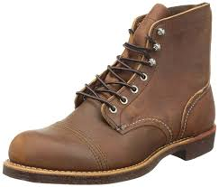 Red Wing Heritage Iron Ranger 6 Inch Boot Copper Rough U0026 Tough