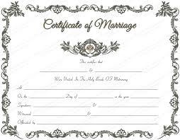 catholic marriage certificate wedding certificate templates free wedding certificate template