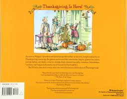 thanksgiving is here diane goode 9780060515904 books