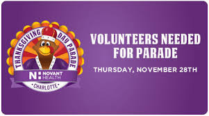 volunteers needed for thanksgiving day parade