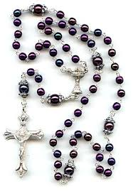 a rosary a thing to start in the middle of lent the rosary