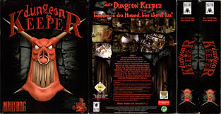 dungeon si e big box collection papercraft model for dungeon keeper pc 1997
