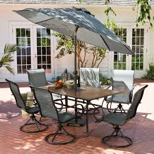 Agio 7 Piece Patio Dining Set - hd designs outdoors franklin park 7 piece patio set patio