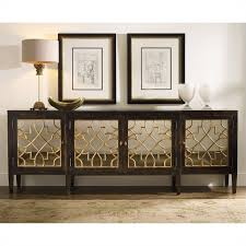 sanctuary 4 drawer console table seldens home furnishings hooker furniture sanctuary 4 door