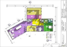 plan maison en u ouvert maison plain pied 4 chambres u2013 maison moderne
