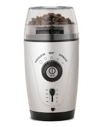 Coffee Blade Grinder Amazon Com Hamilton Beach 80365 Custom Grind Hands Free Coffee