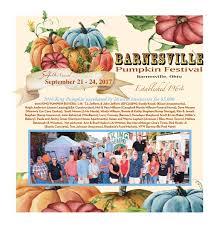 54th barnesville pumpkin festival tab 2017 by barnesville pumpkin