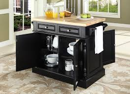 black butcher block kitchen island buy butcher block top kitchen island in black finish