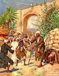 Bartholomew The Blind Man The Story Of A Blind Beggar Luke 18 35 43 A Christian Pilgrimage