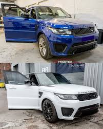 white wrapped range rover full vehicle wraps fancy a new colour or finish that no one has