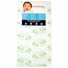Best Crib Mattress For Toddler Best Crib Mattress Baby Toddler Bed Foam Waterproof White Portable