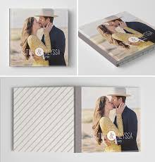 Couple Photo Album Engagement Book Album Cover Template Our Story Cover Template