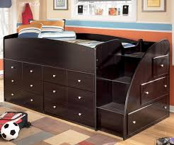 Kids Loft Bed With Storage Full Size Loft Bed With Storage Dresser U2014 Modern Storage Twin Bed