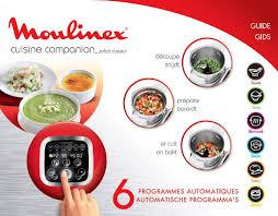 moulinex cuisine companion manuel moulinex cuisine companion et notice cuisine companion
