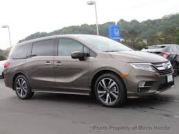 2018 new honda odyssey elite automatic at marin honda serving