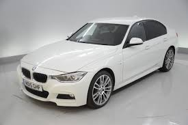 bmw white car used bmw 3 series m sport white cars for sale motors co uk