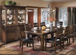 larchmont extendable dining room set from ashley d442 45