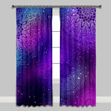 Pink And Purple Curtains Sumptuous Design Pink And Teal Curtains Boho Purple Blue Mandala