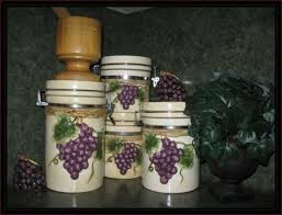 grape kitchen canisters 61 best grapes kitchen images on kitchen ideas wine