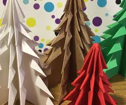 easy origami christmas tree 9 steps with pictures