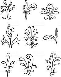 fanciful organic ornamentation stock vector 472269609 istock