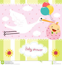 baby shower cards baby shower card royalty free stock photo image 34899195