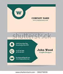 business card business card template business stock vector