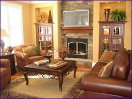Living Room Decor With Brown Leather Sofa Living Rooms With Leather Furniture Decorating Ideas Galleries