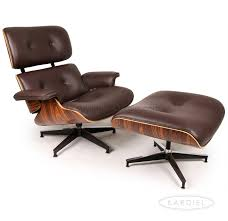 Miller Lounge Chair Design Ideas Plywood Lounge Chair Ottoman Choco Brown Premium Leather